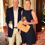 Steve and Donna Ford, Cocktails at Selma Mansion, June 7, 2018, Nancy Milburn Kleck