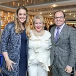 Regan Hunneycutt, Marsha Muawwad, Colorectal CEO Alliance CEO Michael Sapienza. Photo by Tony Powell. 2018 Colorectal Brunch. Cafe Milano. December 10, 2018