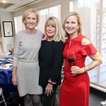 Susan Cowart, ML Murray, Nan Moring. Photo by Tony Powell. 2018 Colorectal Brunch. Cafe Milano. December 10, 2018