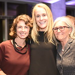 Meredith Margolis, Shari Gronvall, Jeanne Harrison. Compass Real Estate Arlington Opening. February 22, 2018. Amanda Warden.
