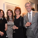 Beth Borenstein, Grace Jones, Orysia Stanchak, Marc Cowan. Compass Real Estate Arlington Opening. February 22, 2018. Amanda Warden.