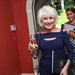 Diane Rehm. Photo by Tony Powell. Conversation with Ashley Judd. Romano Residence. July 18, 2018