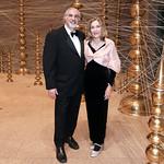 Richard Kurin, Dame Jillian Sackler. Photo by Tony Powell. 2018 Freer Sackler Spirit of Tokyo. November 16, 2018