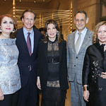 Sana Sabbagh, Bill Manger, Victoria Wyman, Jonathan Marder, Veronique Bich. Photo by Tony Powell. 2018 Freer Sackler Spirit of Tokyo. November 16, 2018