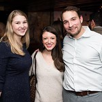 Kate Bannen, Devin Sears and Aaron Williams attend the Hill Impact event at the Hamilton on January 11, 2018.  Photography by Joy Asico