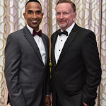 Cedric Brown, Ron Herman. September 15, 2018. Joan Hisaoka Make A Difference Gala VIP Cocktail Hour. Photo by Gevar Bonham