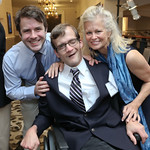 "Benjamin Hunt, Jeffrey Hunt, Linda Potter. Photo by Tony Powell. Kennedy Krieger ""Whatever It Takes"" Gala. Capitol Hilton. October 10, 2018"