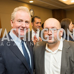 Senator Chris Van Hollen, Jason Rezaian, Capitol Hill Nowruz Reception, hosted by PAAIA, March 19, 2018, photo by Ben Droz.