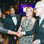 Tenia Pritchard, Michael Redmond, Tim Gunn, Standing Ovation for DC Public Schools, The Anthem at the Wharf, February 8, 2018. Photo by Ben Droz.