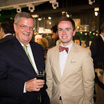 Brian and Patrick Coyne. Photo by Bruce Allen. Young Leaders Halfway to St. Patricks Day. 9/14/18