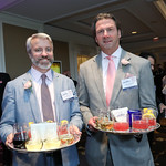 Conor Miller, Tim Watkins. Photo by Tony Powell. 14th Annual Women & Wine. Ritz Tysons. April 24, 2019