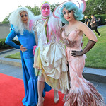 Rigatoni, Joanne Fabrix, Betty O'Hellno. Photo by Tony Powell.1st Annual Hirshhorn Ball. June 15, 2019