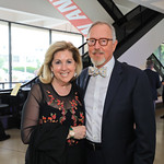 Sherrie and Sid Beckstead,. Photo by Tony Powell.1st Annual Hirshhorn Ball. June 15, 2019
