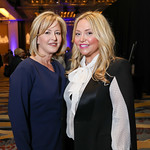 Jacqui Michel, Andrea Rinaldi. Photo by Tony Powell. 2019 N Street Village Gala. Marriott Marquis. March 14, 2019