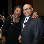 Cora Masters Barry, Scott Bolden. Photo by Tony Powell. 2019 N Street Village Gala. Marriott Marquis. March 14, 2019