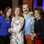 Susan Koch, Carole Feld, Jose Alberto Ucles, Izette Folger. Photo by Tony Powell. 2019 N Street Village Gala. Marriott Marquis. March 14, 2019