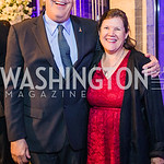 Scott Badesch , Phyllis Badesch . Photo by Alfredo Flores. 2019 Autism Awareness Gala. The Anthem. November 12, 2019.