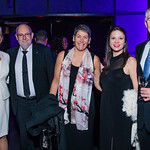 Stephane Diaconis, Steen Lohse, Kim Musheno, Margaret Miller, Alexander Linke.  Photo by Alfredo Flores. 2019 Autism Awareness Gala. The Anthem. November 12, 2019.