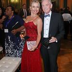 Victoria Stavila, Jim Martell. Photo by Tony Powell. 2019 Blue Hope Bash. Mellon Auditorium. November 2, 2019
