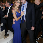 Pilar Rivera and John Backus. Photo by Tony Powell. 2019 Blue Hope Bash. Mellon Auditorium. November 2, 2019