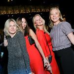 Hanna Isacsson, Runa Neely, Hanna Lodin, Matilda Lund. Photo by Tony Powell. 2019 Helen Hayes Awards. The Anthem. May 13, 2019