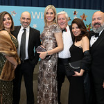 "Nazaneen and Afrouz Homayouni, Cynthia and Mark Criscuolo, Areina and Mike Koch. Photo by Tony Powell. 2019 Make A WIsh ""Evening of Wishes."" Reagan Building. April 6, 2019"