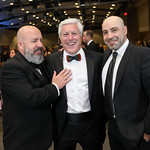 "Mike Koch, Mark Criscuolo, Afrouz Homayouni. Photo by Tony Powell. 2019 Make A WIsh ""Evening of Wishes."" Reagan Building. April 6, 2019"