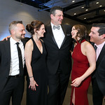"Kathryn Markey, David Fascitelli, David Bueno, Aly Aghamehdi, Keith Kriner. Photo by Tony Powell. 2019 Make A WIsh ""Evening of Wishes."" Reagan Building. April 6, 2019"