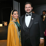 HH Princess Sora Saud and HRH Abdulaziz bin Talal bin Abdulaziz Al Saud. Photo by Tony Powell. 2019 Mentor Foundation Gala. House of Sweden. November 15, 2019
