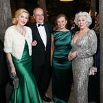 Baroness Alexandra N. Sényi de Nagy-Unyom, Luxembourg Amb. Gaston Stronck, Monika Langer, Robin Phillips. Photo by Tony Powell. 2019 Meridian Ball. October 25, 2019