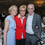 Ruth Sorenson, Schroeder Stribbling, Peter Shields. Photo by Tony Powell. 2019 N Street Village Luncheon. Ritz Carlton. May 23, 2019