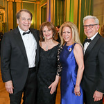 Peter and Judy Kovler, Debra and Ed Cohen. Photo by Tony Powell. Sibley Memorial Hospital 18th Hope & Progress Gala. Mellon Auditorium. March 9, 2019