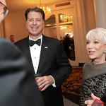 Curt Kolcun, Elaine Rogers. Photo by Tony Powell. 2019 USO Gala. Omni Shoreham. March 26, 2019