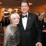 Elaine Rogers, Curt Kolcun. Photo by Tony Powell. 2019 USO Gala. Omni Shoreham. March 26, 2019