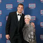 Rod Gronkowski, Elaine Rogers. Photo by Tony Powell. 2019 USO Gala. Omni Shoreham. March 26, 2019