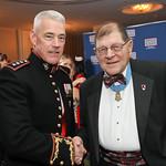 Lt. Gen. Brian Beaudreault, Lt. Hal Fritz. Photo by Tony Powell. 2019 USO Gala. Omni Shoreham. March 26, 2019