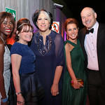 Asahi Pompey, Lisa Pevaroff-Cohn, Tammy Haddad, Stephanie Ruhle, Gary Cohn. Photo by Tony Powell. 2019 WHCD NBC News & MSNBC After Party. Embassy of Italy. April 27, 2019