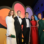 Yasmin Vossoughian, Peter Alexander, Jacob Soboroff, Kristen Welker, Stephanie Ruhle. Photo by Tony Powell. 2019 WHCD NBC News & MSNBC After Party. Embassy of Italy. April 27, 2019