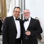 Arvind Manocha and Gideon Malone. Photo by Tony Powell. 2019 WNO Spring Gala. Kennedy Center. May 18, 2019