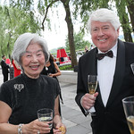 Satsuko Young and Bob Young. Photo by Tony Powell. 2019 WNO Spring Gala. Kennedy Center. May 18, 2019