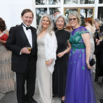 Cary Pollak, Barbara Hawthorn, Satsuko Young, Lori Jenkins. Photo by Tony Powell. 2019 WNO Spring Gala. Kennedy Center. May 18, 2019