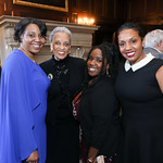 Marissa Jennings ,Dr. Johnetta Betsch Cole, Kerri Lee Alexander, Dr. Kelly Bolden. Photo by Tony Powell. 2019 Women Making History Awards. Carnegie Institution for Science. April 3, 2019