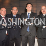 Michael Guditus, Joseph Semandar, Yisroel Stefansky, Rami Savir, AIPAC Dinner, Advanced Security Training Institute, Hosted by Martha Boneta, March 24, 2019, Photo by Ben Droz.