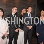 Rabia Kazan, Yair Netanyahu, Yisroel Stefansky, Katrina Pierson, AIPAC Dinner, Advanced Security Training Institute, Hosted by Martha Boneta, March 24, 2019, Photo by Ben Droz.