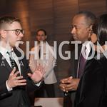 Yisroel Stefansky, Secretary Ben Carson, AIPAC Dinner, Advanced Security Training Institute, Hosted by Martha Boneta, March 24, 2019, Photo by Ben Droz.