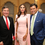 Amb. Charles Rivkin, Amy and Bret Baier. Photo by Tony Powell. Alliance Francaise 70th Anniversary. April 11, 2019