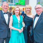 John Roberts, Jane Roberts, Cindy Flannery, Dennis Flannery. Photo by Alfredo Flores. Catholic Charities Gala 2019. Marriott Marquis. April 5, 2019 .dng