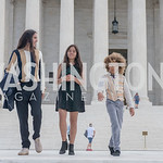 Xiuhtezcatl Martinez, Xije Bastida, Levi Draheim, Activists and Members of Congress gather at the Supreme Court, with Plaintiffs from Juliana v. United States, as part of the Global Climate  ...