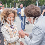 Levi Draheim, Rep. Jan Schakowsky, Activists and Members of Congress gather at the Supreme Court, with Plaintiffs from Juliana v. United States, as part of the Global Climate Strike.  Septem ...