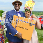2nd Place winner with Emmanuel Bailey, DC09 Party at the 2019 Gold Cup, Great Meadow, May 4, 2019, photo by Nancy Milburn Kleck